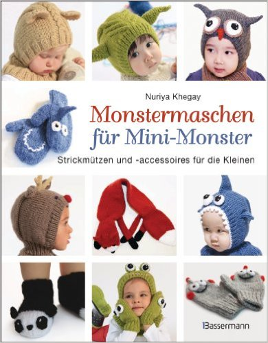 Monstermaschen für Mini-Monster Book Cover