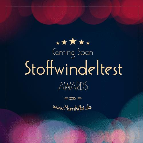 MamiWiki Stoffwindel Test Stoffwindeln Wickeln Baby Neugborene inder Babypflege Awards Auszeichnung Test Gewinner 2016