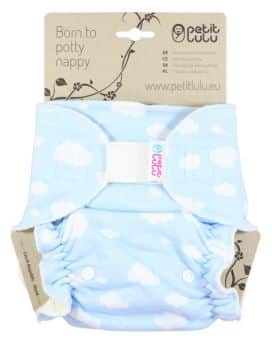 MamiWiki Stoffwindeltest Petit Lulu Höschenwindel Nappy Cloth Diaper Stoffwindel Wickeln Neugeborene Baby Windel Bewertung