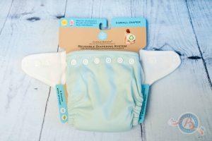 MamiWiki Stoffwindeltest Charlie Banana Hybrid Höschenwindel Nappy Cloth Diaper Stoffwindel Wickeln Neugeborene Baby Windel Bewertung Newborn Neugeborenen Frühchen XS
